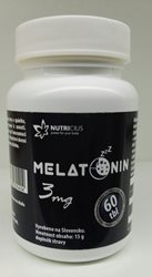 Melatonin 3mg tbl.60  - EXP 09/2022
