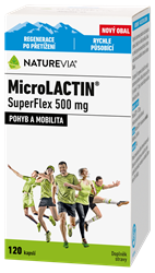 Swiss NatureVia MicroLACTIN SuperFlex 500mg cps120